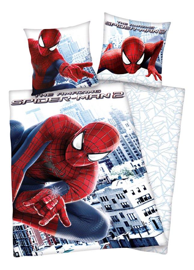 Afbeelding van Dekbedovertrek The Amazing Spider-Man 2 140 x 200 cm flanel from DreamLand
