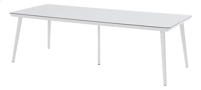 Hartman Table de jardin Sophie Studio blanc L 240 x Lg 100 cm