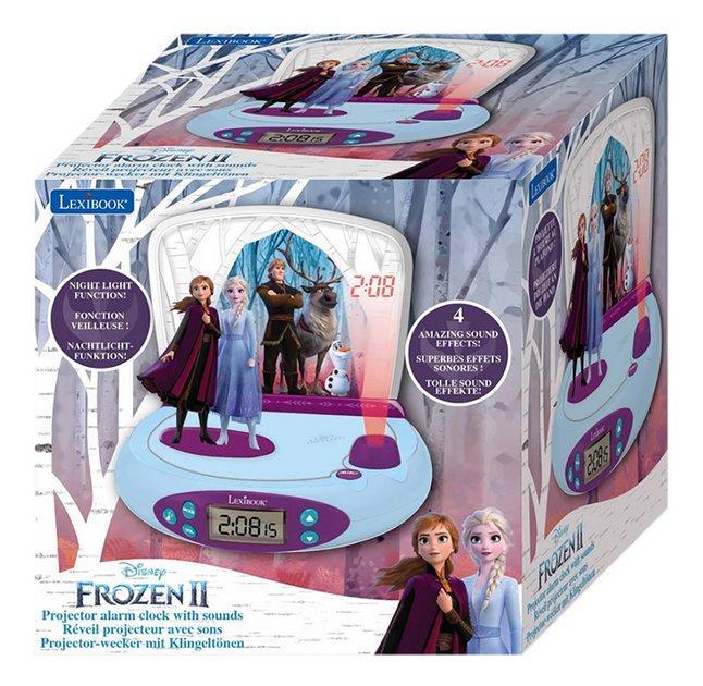 Image pour Lexibook radio-réveil avec projection Disney La Reine des Neiges II à partir de DreamLand