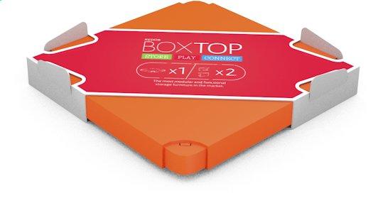 Afbeelding van Chillafish deksel voor Box oranje from DreamLand