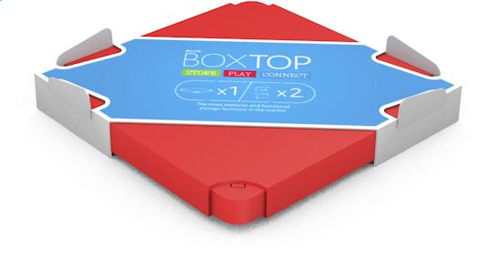 Afbeelding van Chillafish deksel voor Box rood from DreamLand