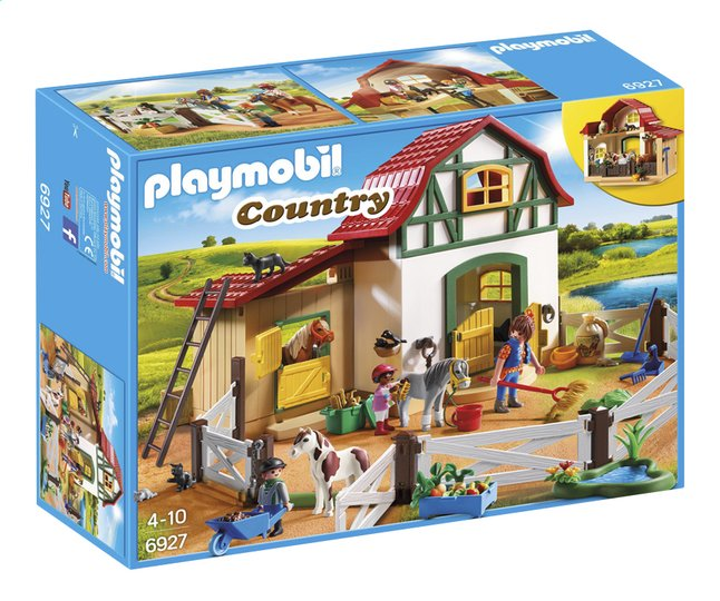 Afbeelding van Playmobil Country 6927 Ponypark from DreamLand