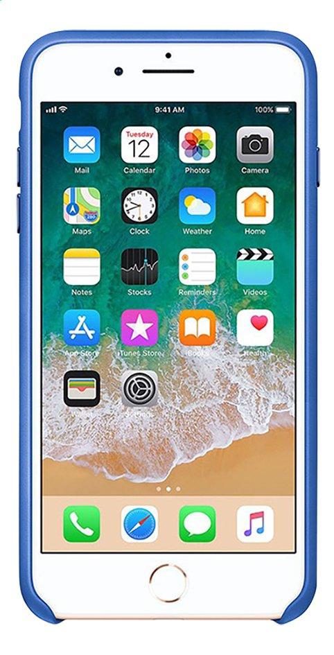 coque iphone 8 silicone bleu electrique