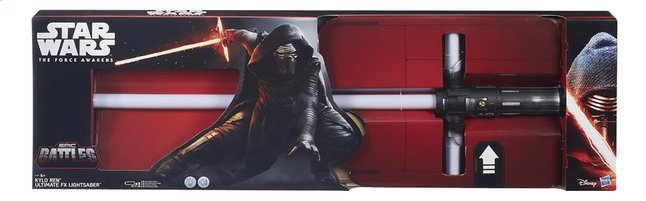 Afbeelding van Elektronisch zwaard Star Wars Episode VII Kylo Ren Ultimate FX Lightsaber from DreamLand
