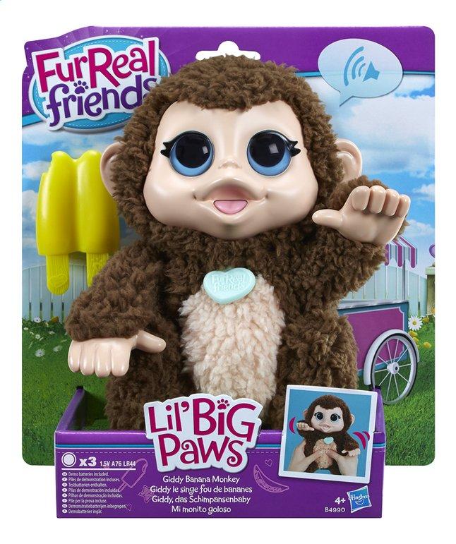 Image pour FurReal Friends peluche interactive Lil' Big Paws Giddy le singe fou de bananes à partir de DreamLand