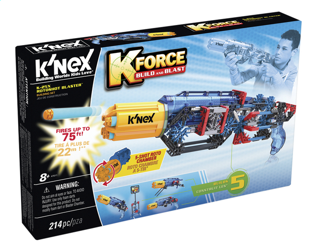 Image pour K'nex K'Force Build and Blast K-25X Rotoshot Blaster à partir de DreamLand