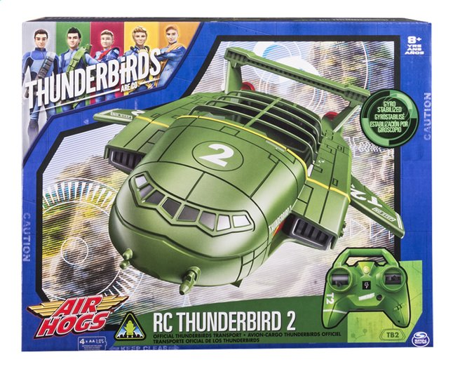 Afbeelding van Air Hogs vliegtuig RC Thunderbirds 2 from DreamLand