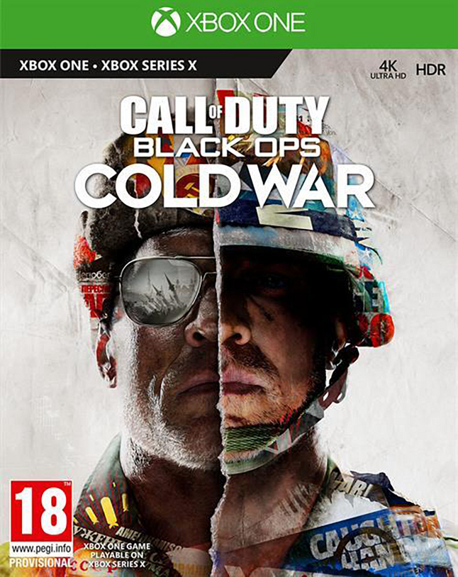 Xbox One Call of Duty Black Ops Cold War ENG/FR