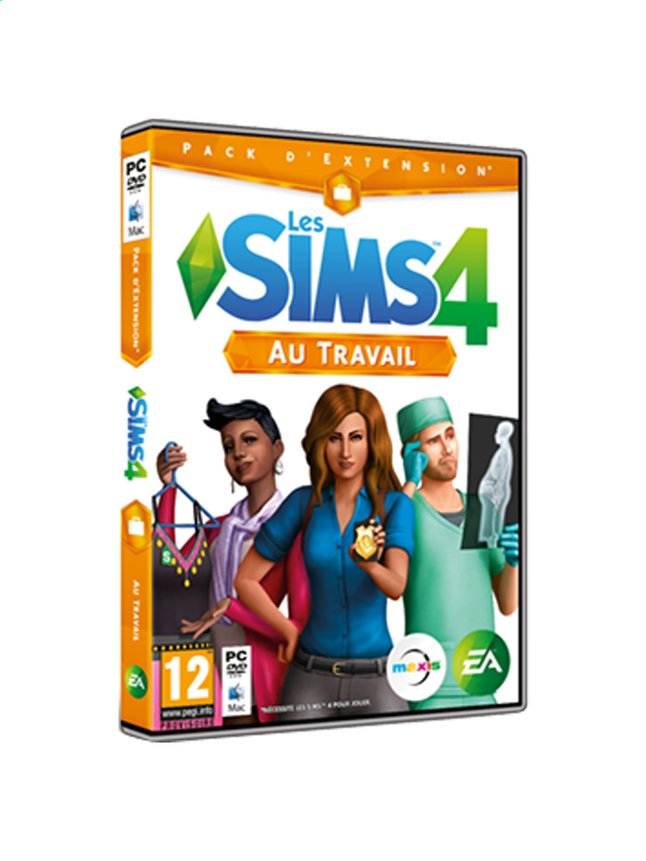 Afbeelding van Pc Les Sims 4: Au travail FR from DreamLand