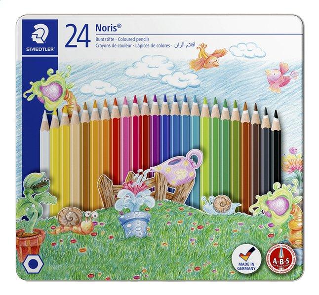 STAEDTLER crayon de couleur Noris - 24 pièces