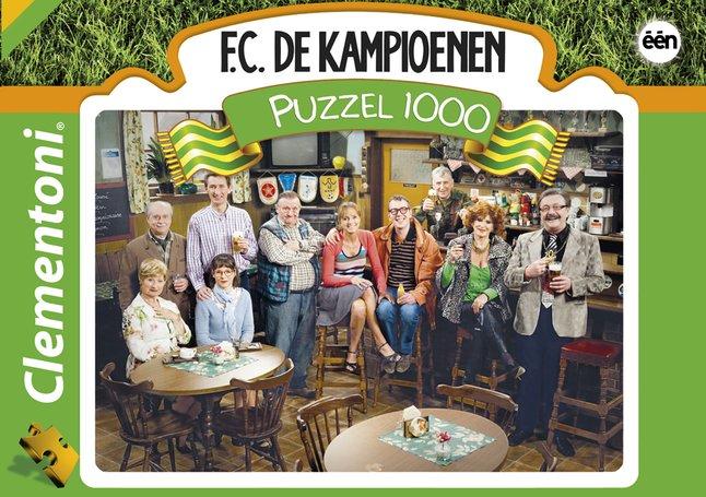 Afbeelding van Clementoni puzzel F.C. De Kampioenen from DreamLand