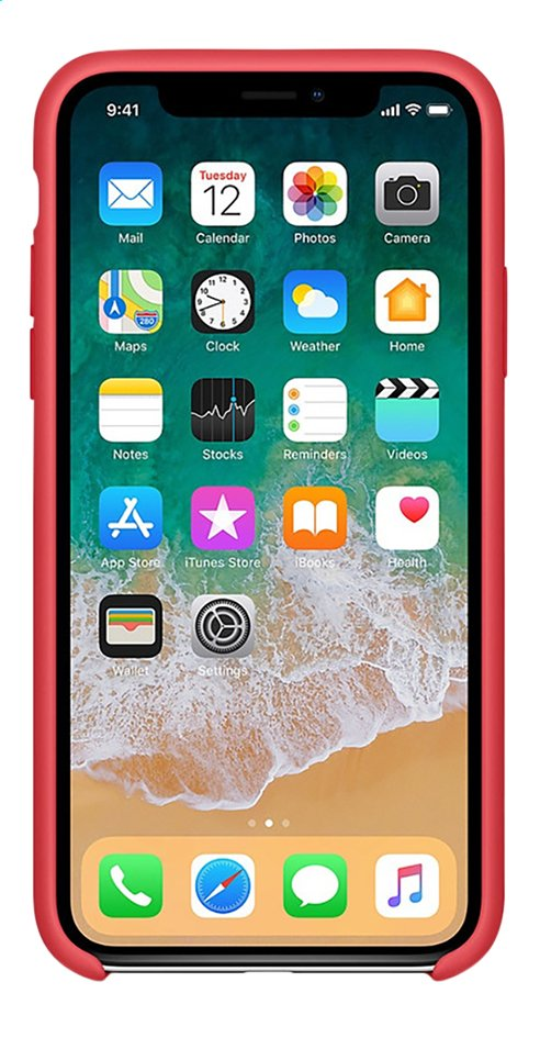 coque iphone x framboise