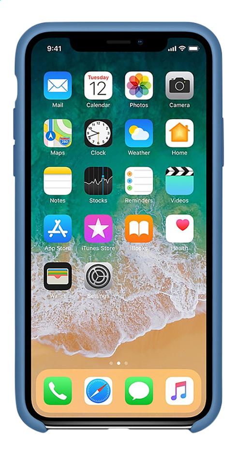 coque iphone x silicone apple jaune