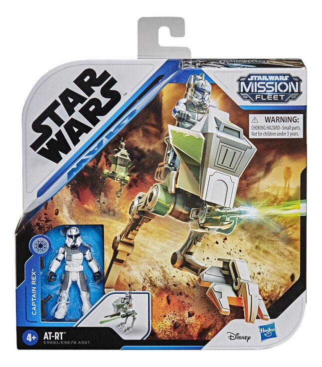 Disney Star Wars Mission Fleet Expedition Class - AT-RT + Captain Rex