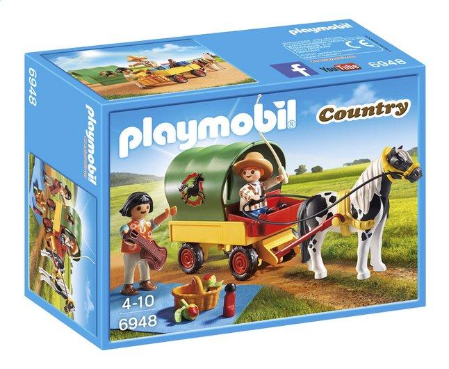 Image pour Playmobil Country 6948 Enfants avec chariot et poney à partir de DreamLand