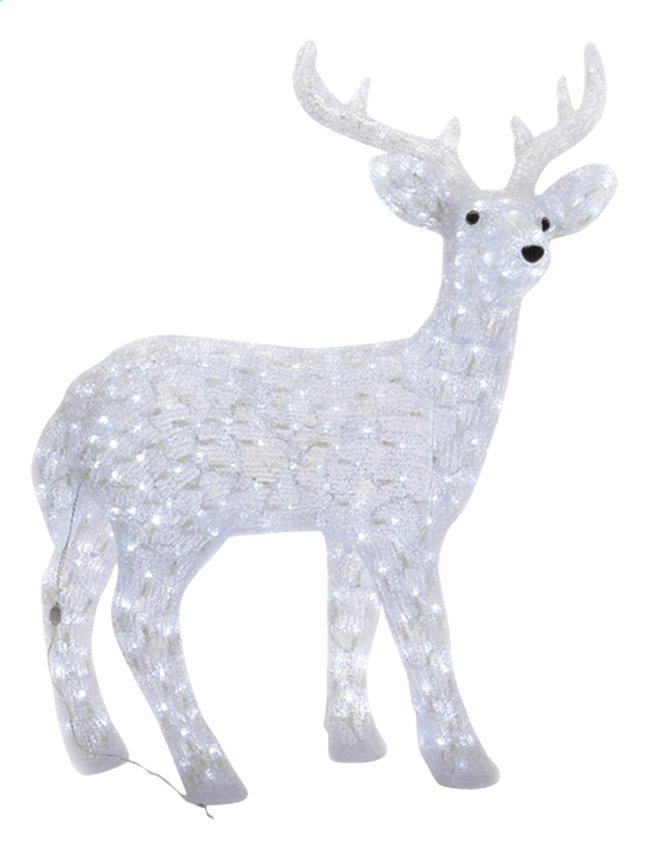 Afbeelding van Dier met ledverlichting rendier H 97 cm from DreamLand