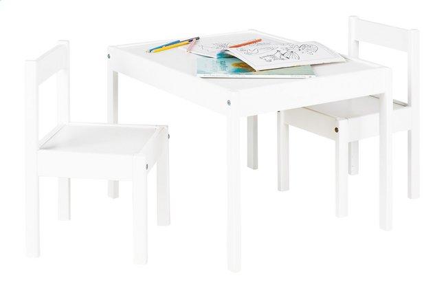 Tafel met 2 stoelen voor kinderen sina dreamland