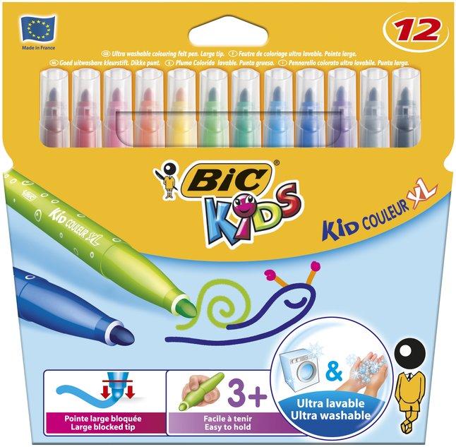 Afbeelding van Bic Kids viltstift Kid Couleur XL - 12 stuks from DreamLand