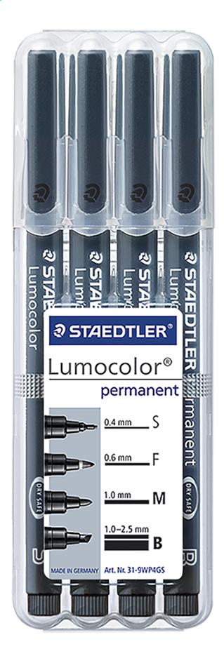 STAEDTLER feutre Lumocolor - 4 pièces
