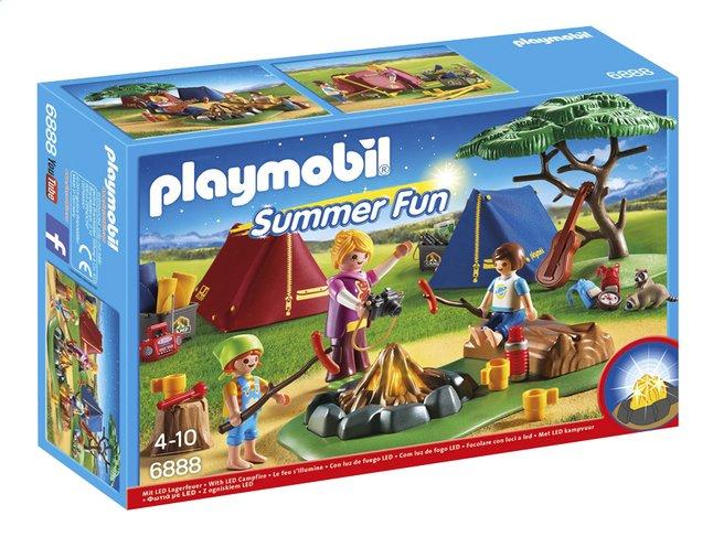 Image pour Playmobil Summer Fun 6888 Tentes avec enfants et animatrice à partir de DreamLand