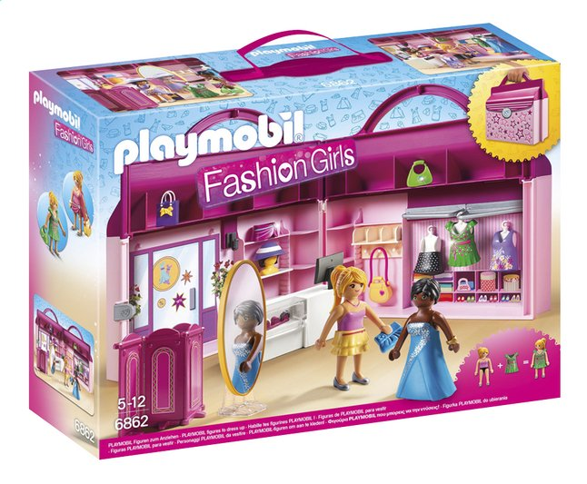 Afbeelding van PLAYMOBIL City Life 6862 Meeneem fashionshop from DreamLand