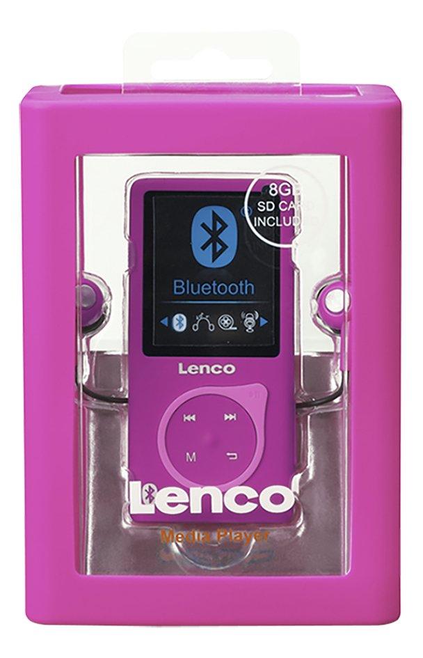 Lenco lecteur MP4 Bluetooth MP-208 8 Go Pink