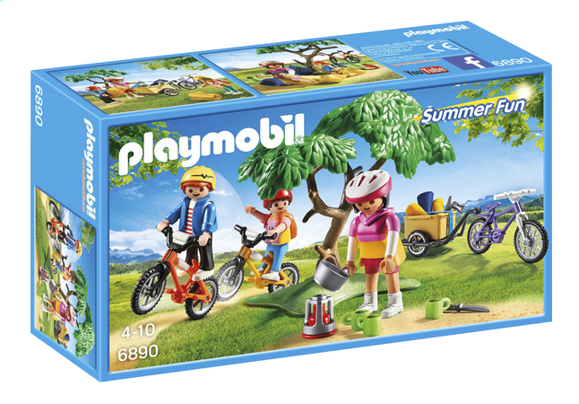 Afbeelding van Playmobil Summer Fun 6890 Mountainbiketocht met bolderwagen from DreamLand