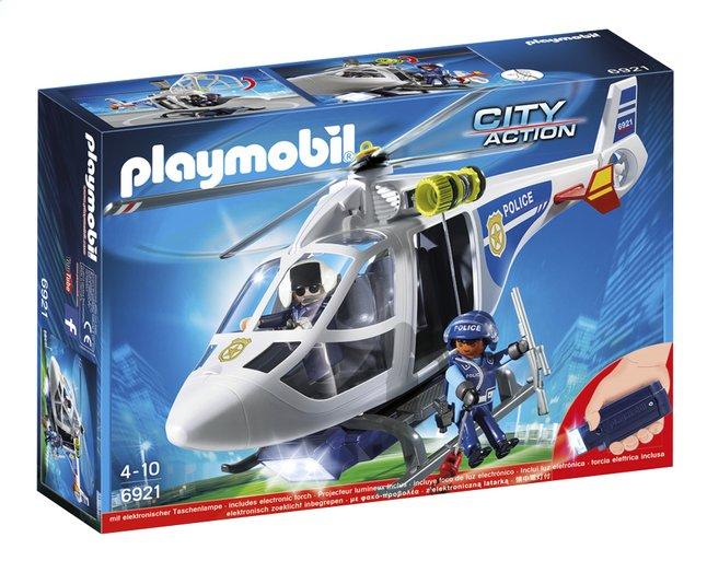 Image pour Playmobil City Action 6921 Hélicoptère de police avec projecteur de recherche à partir de DreamLand