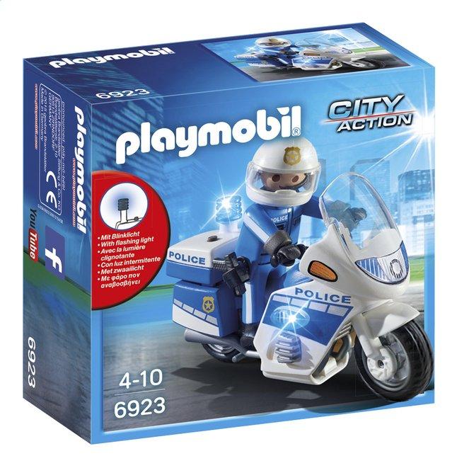 Afbeelding van Playmobil City Action 6923 Politiemotor met LED-licht from DreamLand