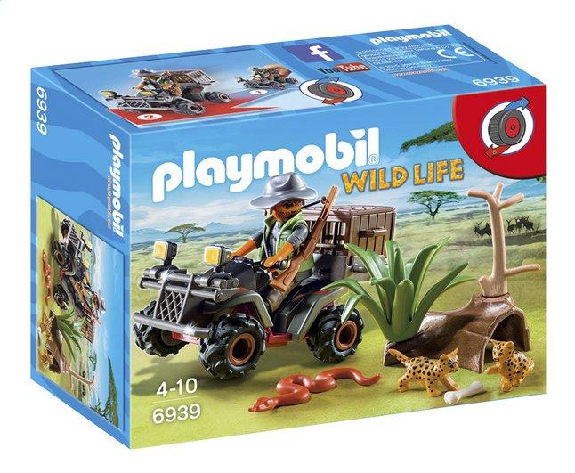 Afbeelding van Playmobil Wild Life 6939 Stroper met quad from DreamLand
