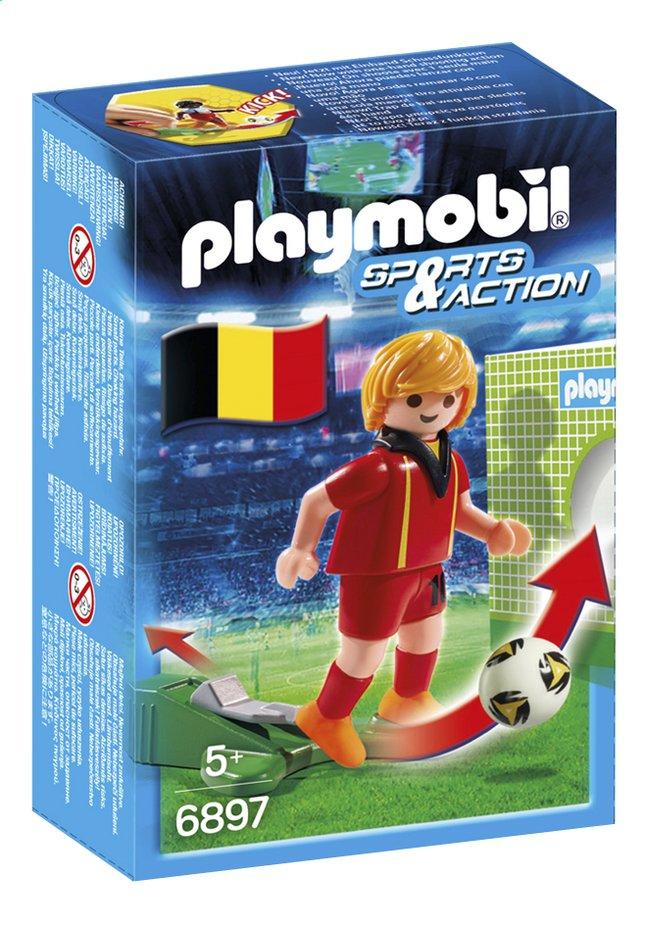 e fr dl playmobil sports  action joueur equipe belgique