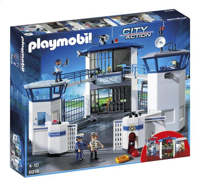Afbeelding van Playmobil City Action 6919 Politiebureau met gevangenis from DreamLand