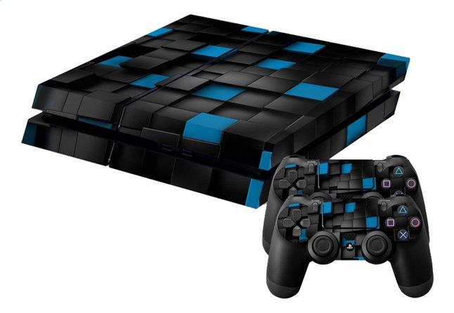 Afbeelding van PS4 skins 3D Cubes voor console + 2 skins voor controllers from DreamLand