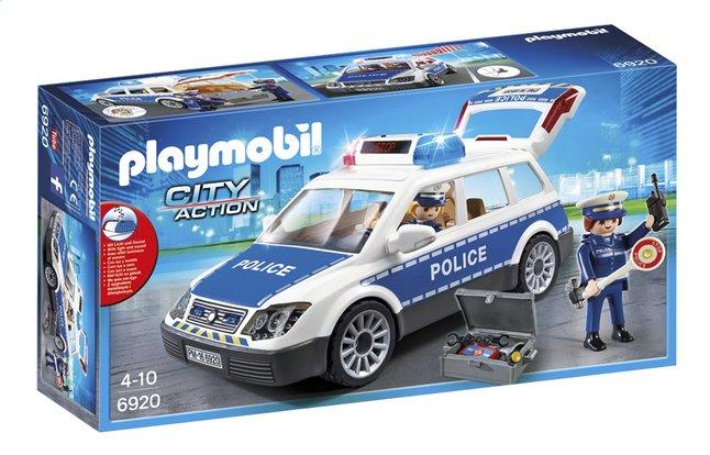 Image pour Playmobil City Action 6920 Voiture de policiers avec gyrophare et sirène à partir de DreamLand