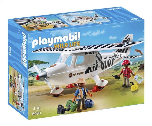 Afbeelding van Playmobil Wild Life 6938 Safari vliegtuig from DreamLand