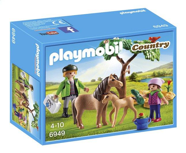 Image pour Playmobil Country 6949 Vétérinaire avec enfant et poneys à partir de DreamLand