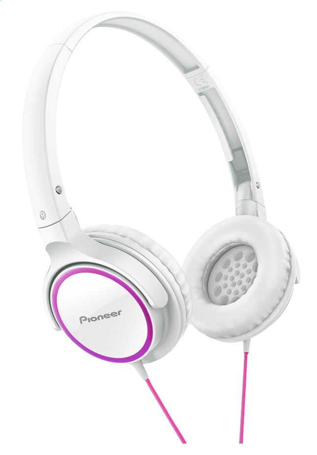 Afbeelding van Pioneer hoofdtelefoon SE-MJ512 wit/roze from DreamLand