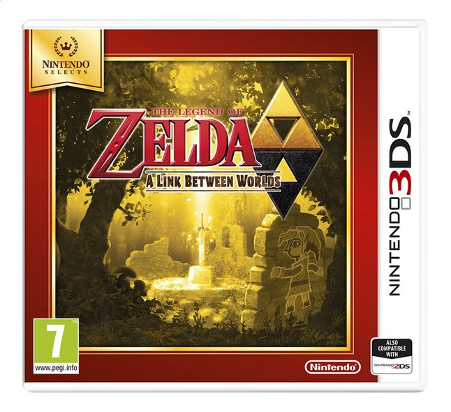 Afbeelding van Nintendo 3DS The Legend of Zelda: A Link Between Worlds Select FR from DreamLand