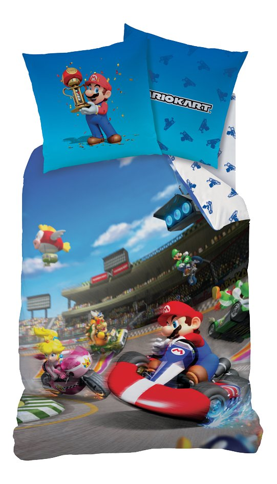 Dekbedovertrek Mario Bros Mario K Winner katoen 140 x 200 cm