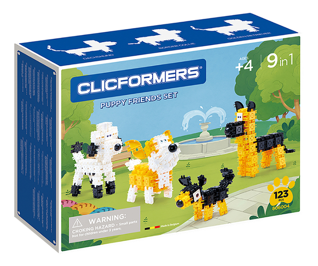 Clicformers Puppy Friends Set 9 in 1
