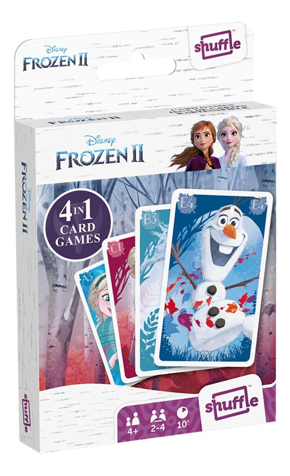 4-in-1 kaartspel Disney Frozen II