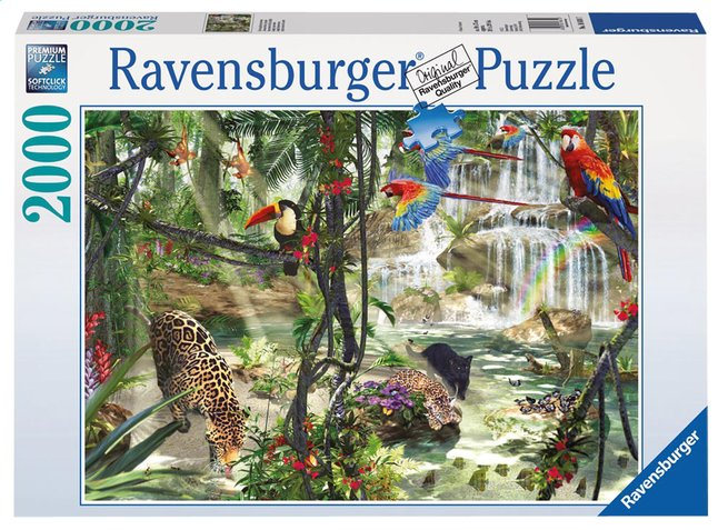 Afbeelding van Ravensburger puzzel Jungle impressies from DreamLand