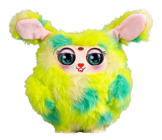 Afbeelding van Silverlit interactieve knuffel Tiny Furries mama Furry groen from DreamLand