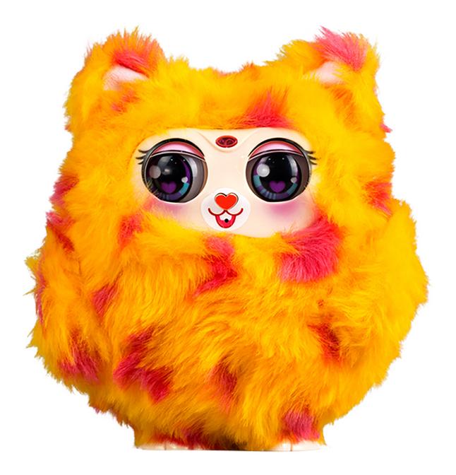Afbeelding van Silverlit interactieve knuffel Tiny Furries mama oranje from DreamLand
