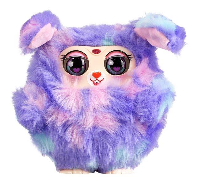 Afbeelding van Silverlit interactieve knuffel Tiny Furries mama paars from DreamLand