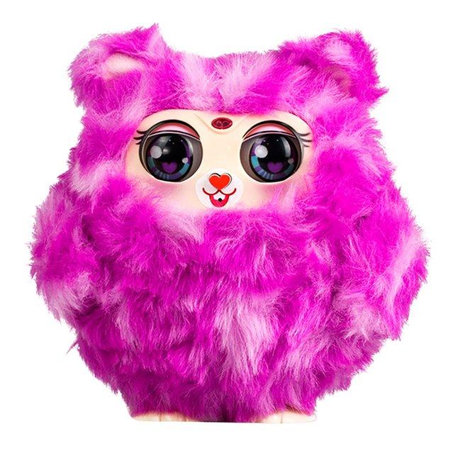 Afbeelding van Silverlit interactieve knuffel Tiny Furries mama roze from DreamLand