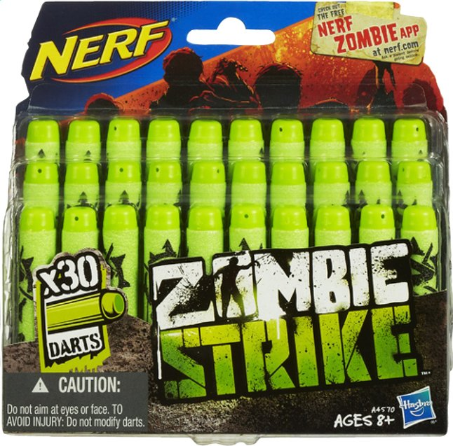 Afbeelding van Nerf Zombie Refill - 30 stuks from DreamLand