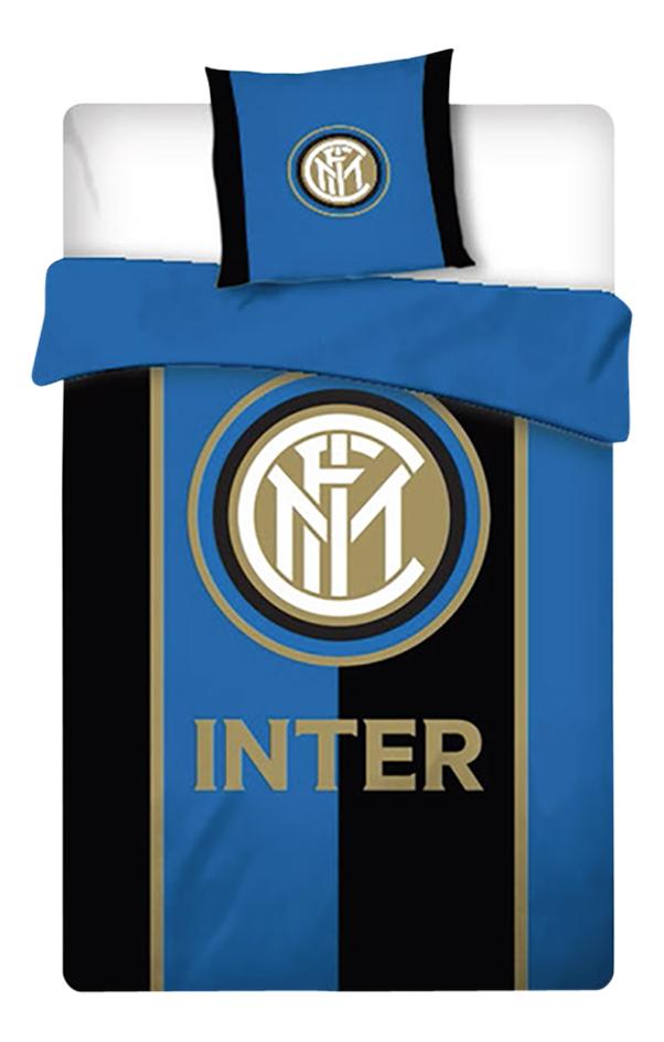 Dekbedovertrek Inter Milan polyester 140 x 200 cm