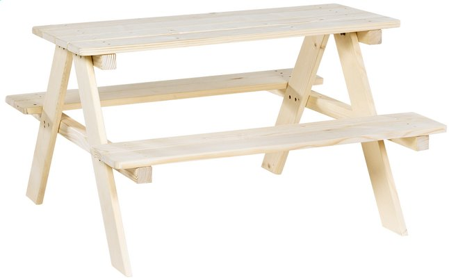 Afbeelding van Pinolino kinderpicknicktafel Nicki from DreamLand