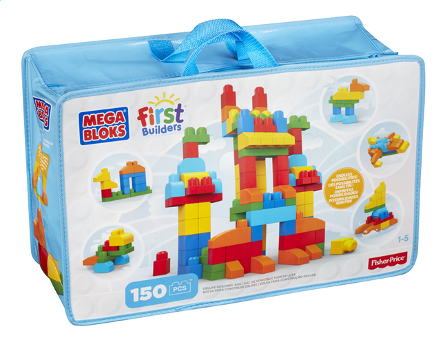 Afbeelding van Mega Bloks First Builders Deluxe building bag from DreamLand